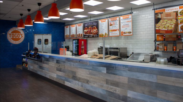 Togo's newly renovated California store